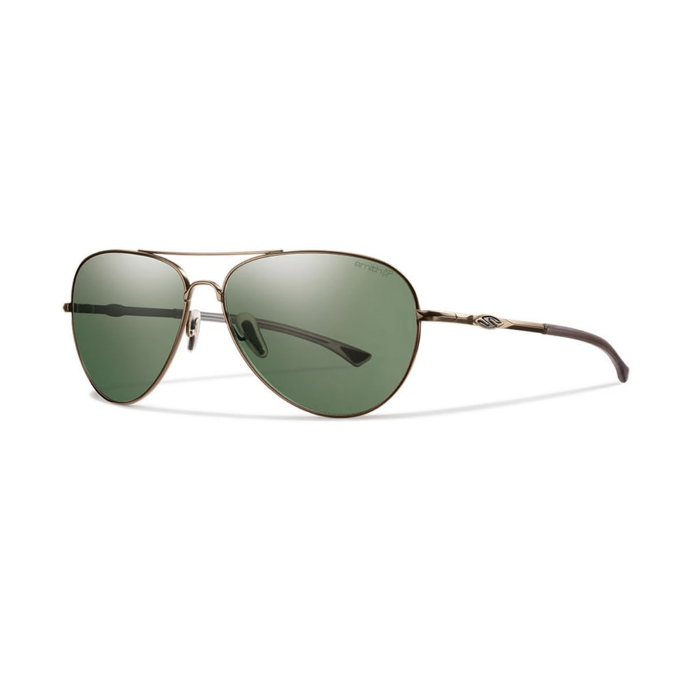 SMITH Audible Sunglasses, Matte Gold/Polar Gray - MATTE GOLD/POLAR GRA