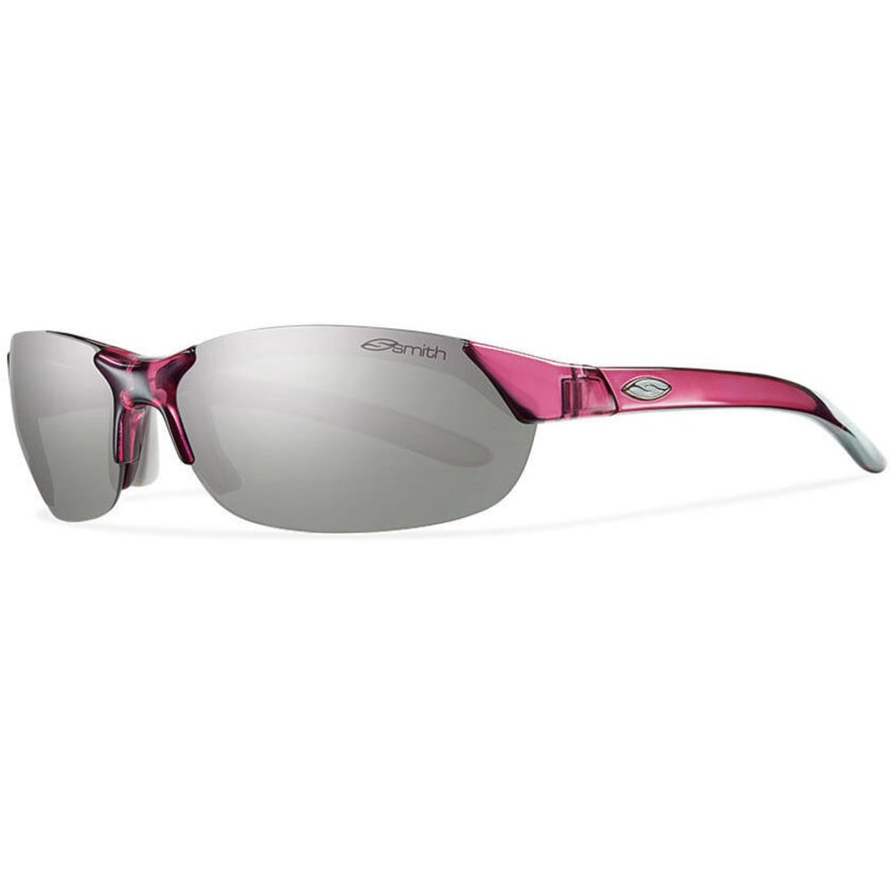 SMITH Women's Parallel Sunglasses, Crystal/Fuschia - CRYSTAL FUCHSIA/PLAT
