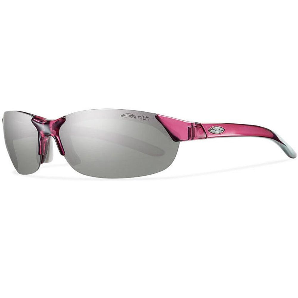 SMITH Women's Parallel Sunglasses, Crystal/Fuschia - CRYSTAL FUCHSIA/PLAT