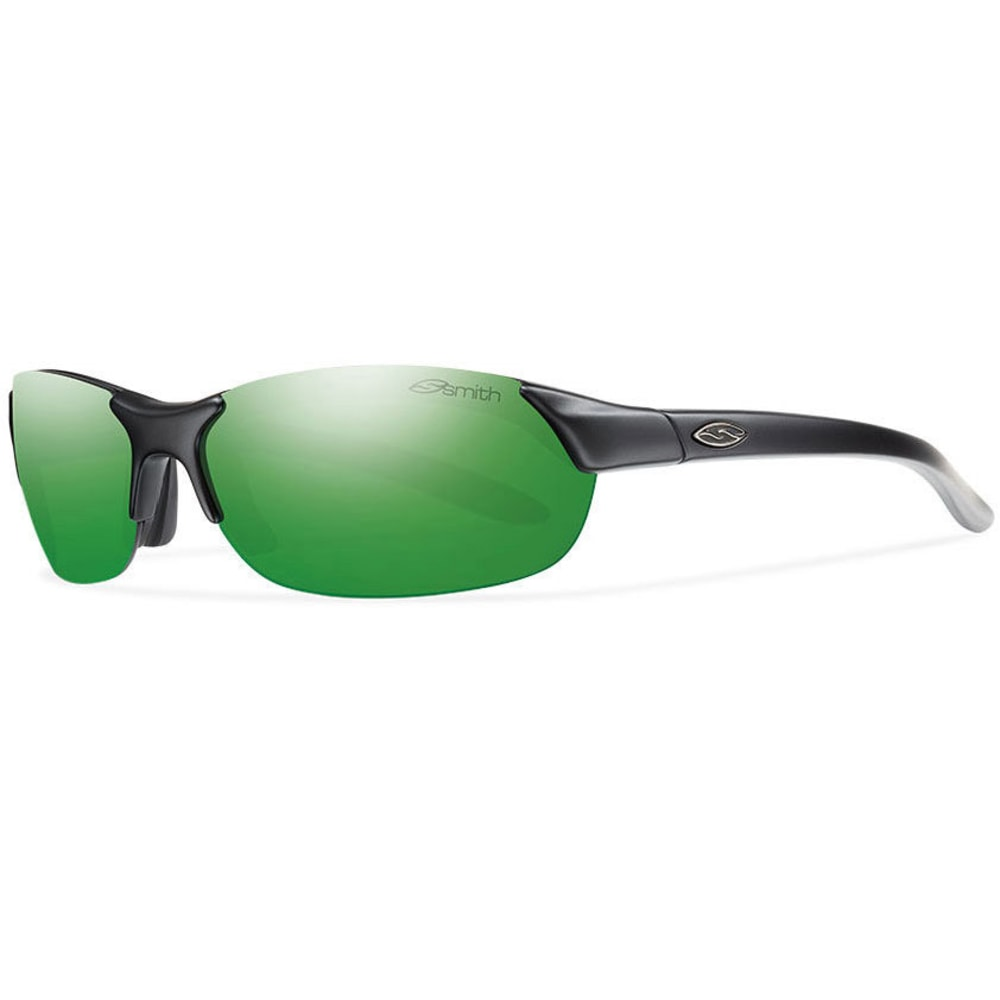 SMITH Parallel Sunglasses, Matte Black/Green SOL - MATTE BLACK/GREEN SO
