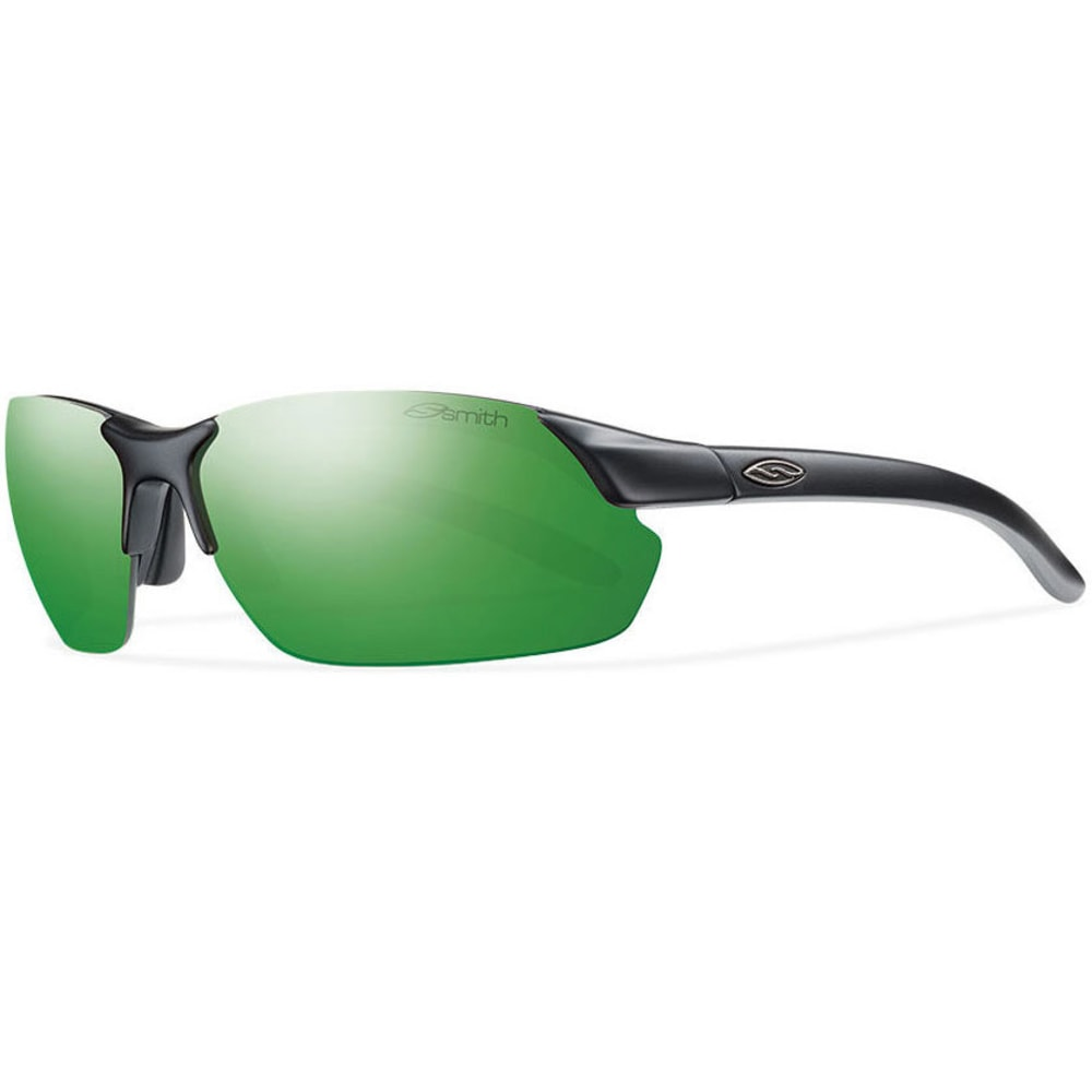 SMITH Parallel Max Sunglasses, Matte Black/Green SOL - MATTE BLACK/GREEN SO