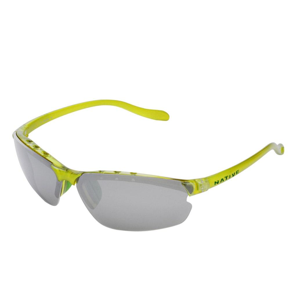 3ff2aedcbae3 NATIVE EYEWEAR DASH XP Sunglasses, Metallic Fern - METALLIC FERN/SILVER