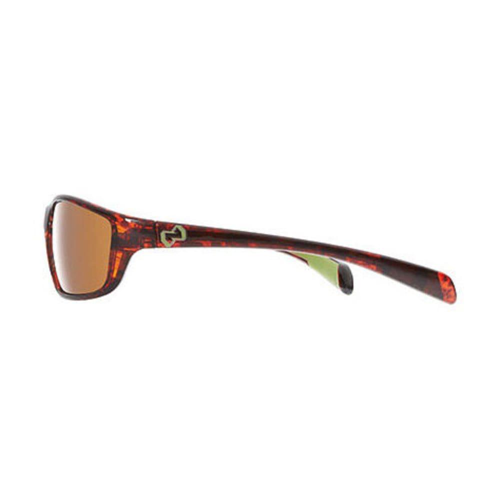 NATIVE Kodiak Sunglasses, Maple Tortoise/Brown - MAPLE TORT