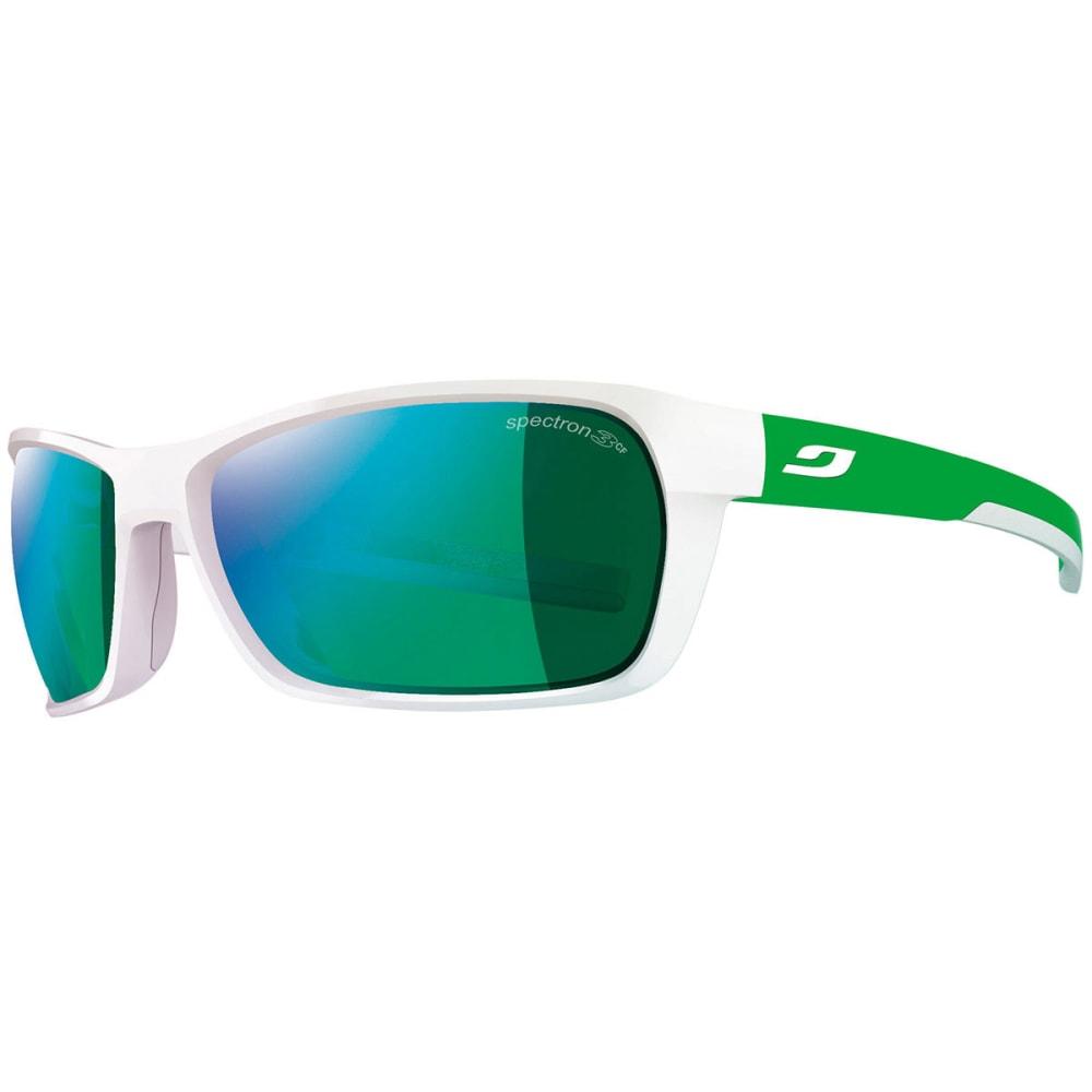 JULBO Blast Sunglasses - SHINY WHITE/ GRN DNU