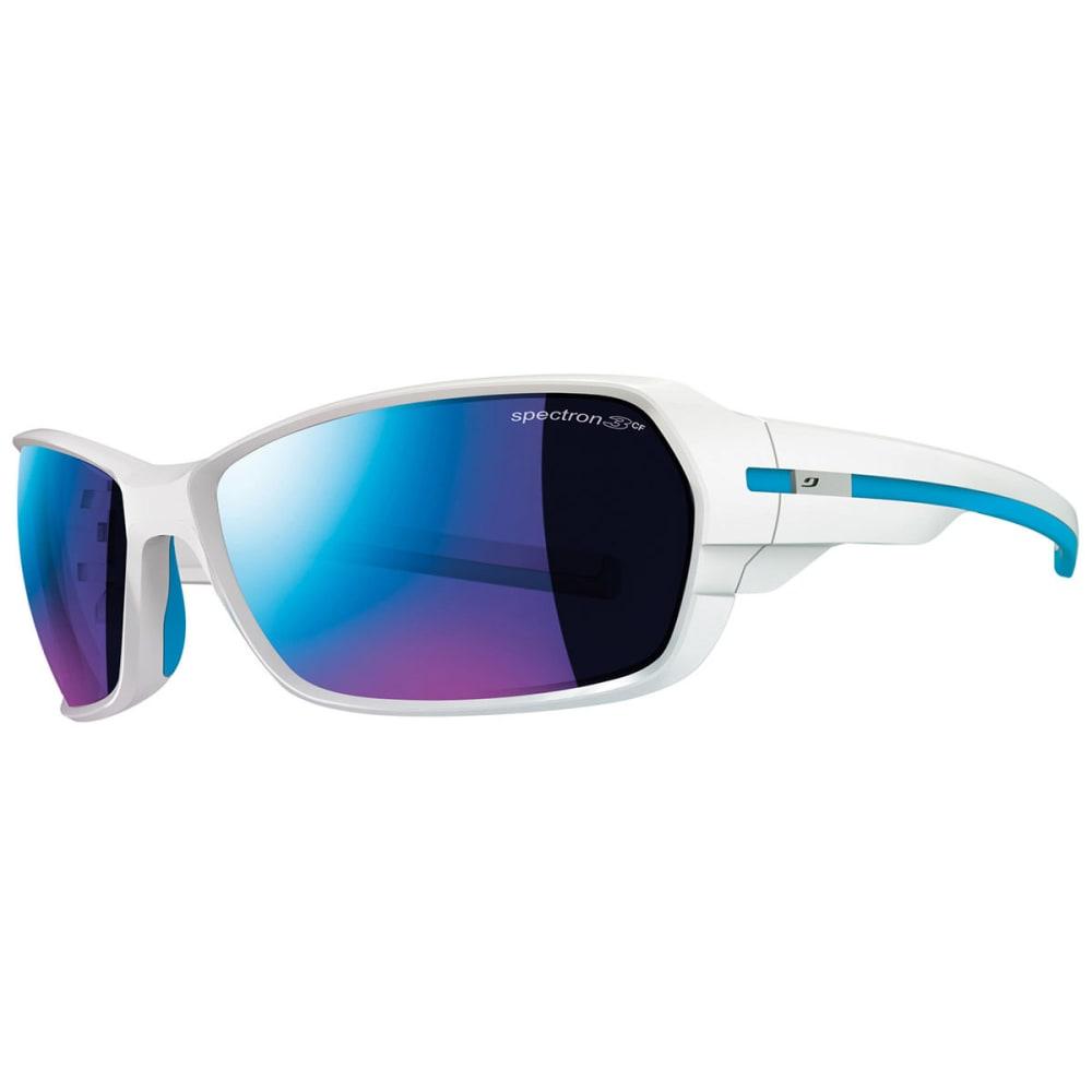 JULBO Dirt 2.0 Spectron 3CF Sunglasses - SHINY WHITE/ BLUE