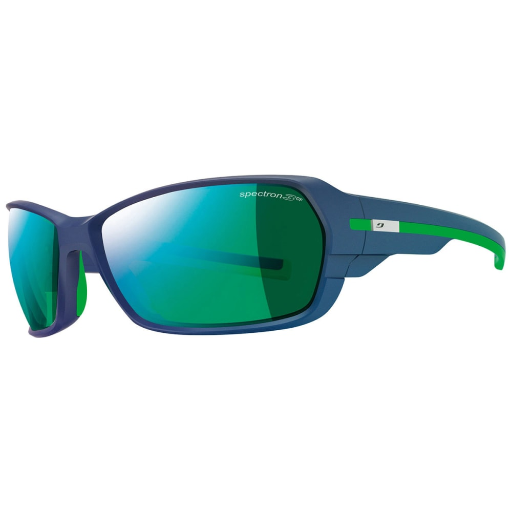 JULBO Dirt 2.0 Spectron 3CF Sunglasses - MATT DARK BL/GRN DNU