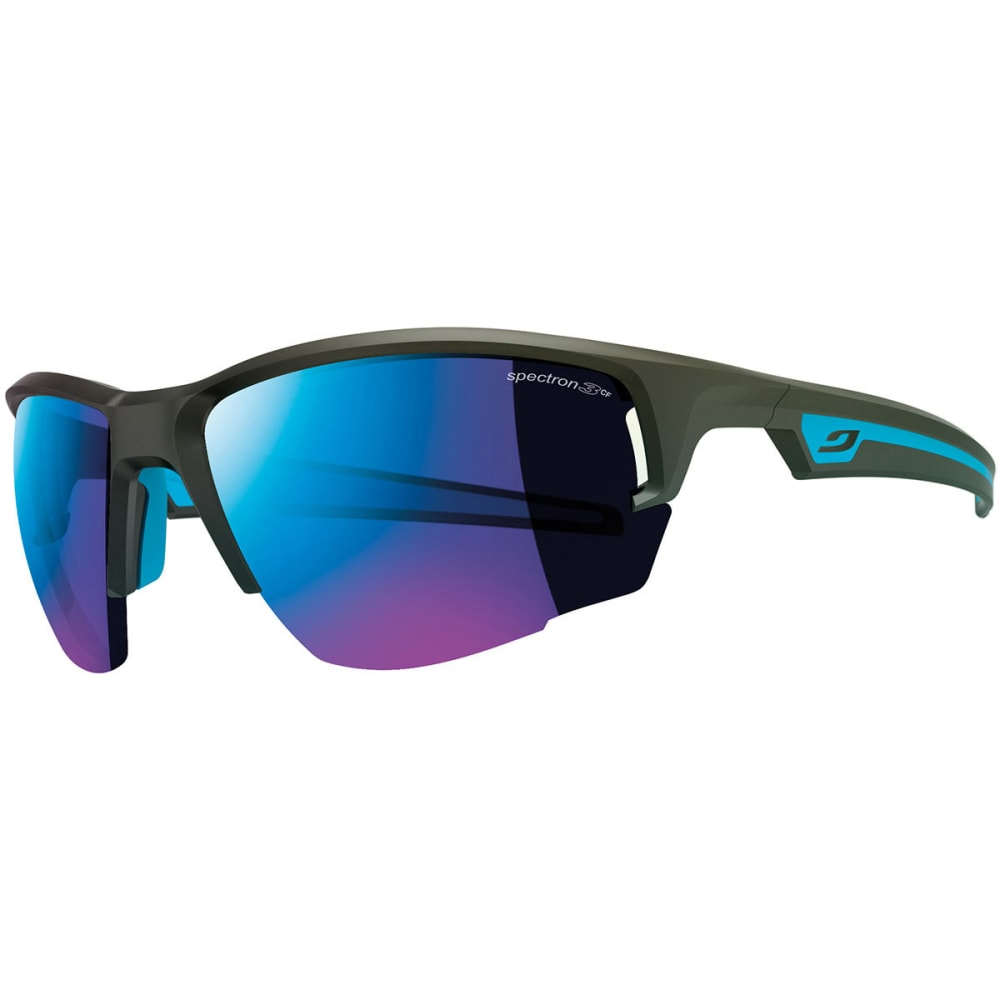 JULBO Venturi Sunglasses with Spectron 3 CF Lenses - MATT BLACK/ BLUE