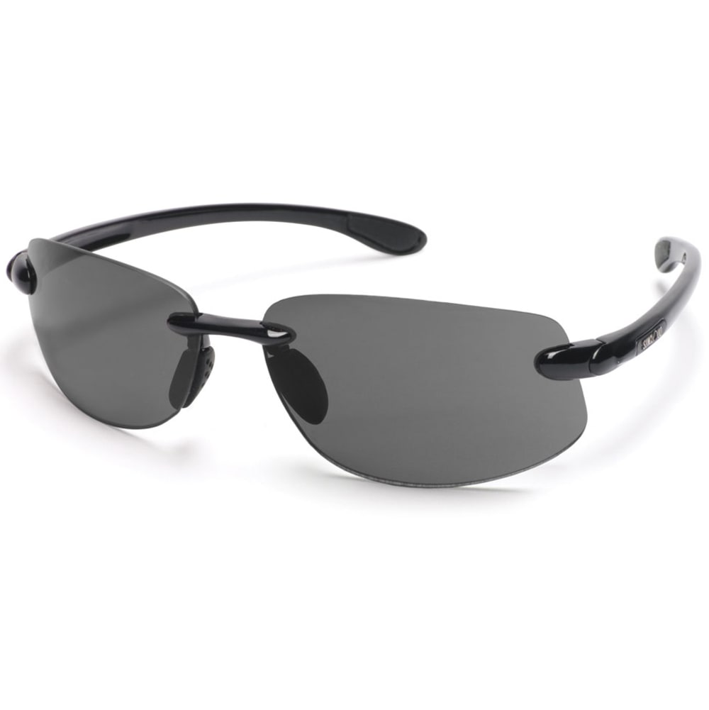 SUNCLOUD Excursion Sunglasses - BLk/Gry S-EXPPGYBK