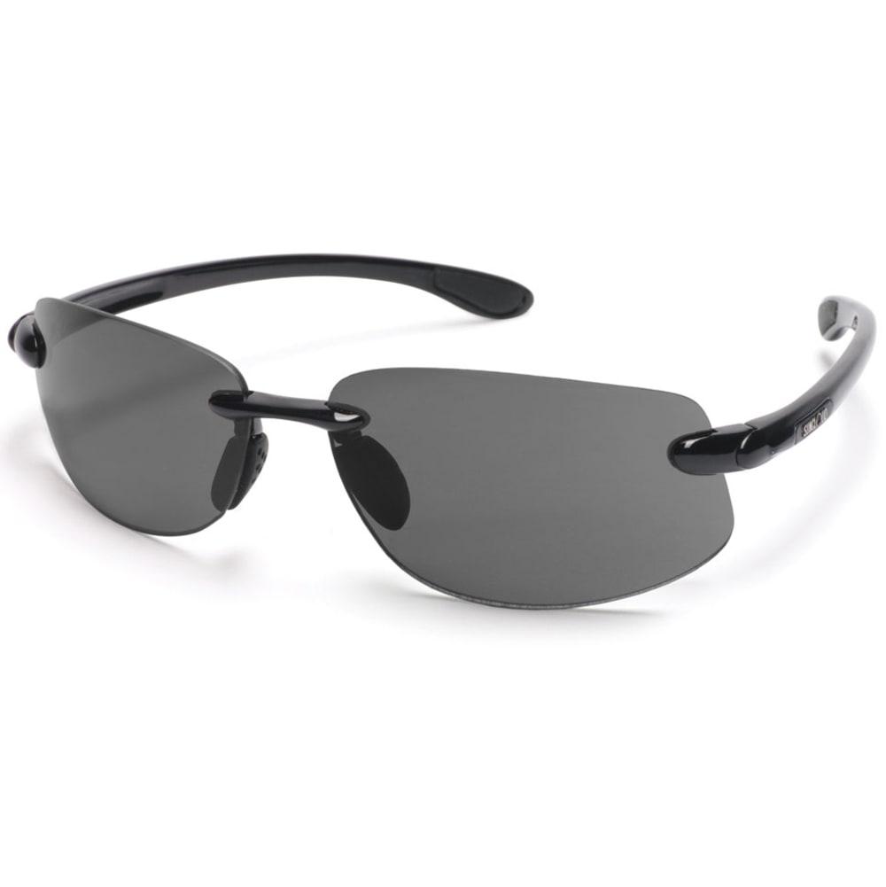 SUNCLOUD Excursion Sunglasses - BLACK/GRAY