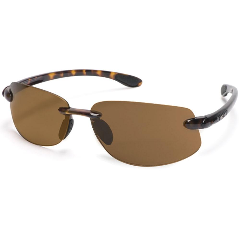 SUNCLOUD Excursion Sunglasses - TRT/BRWN S-EXPPBRTT