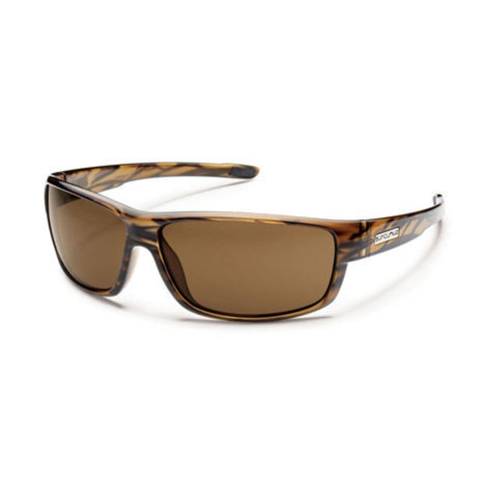 SUNCLOUD Voucher Sunglasses - BROWN STRIPE