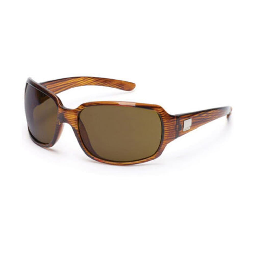 SUNCLOUD Cookie Sunglasses, Whiskey Stripe Laser - NONE
