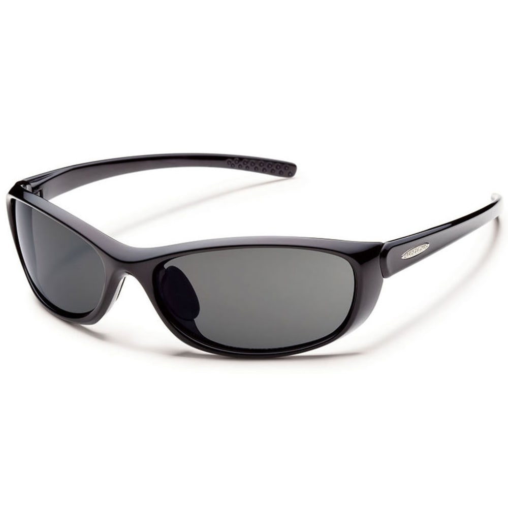 SUNCLOUD Wisp Sunglasses, Black - BLACK/GRAY