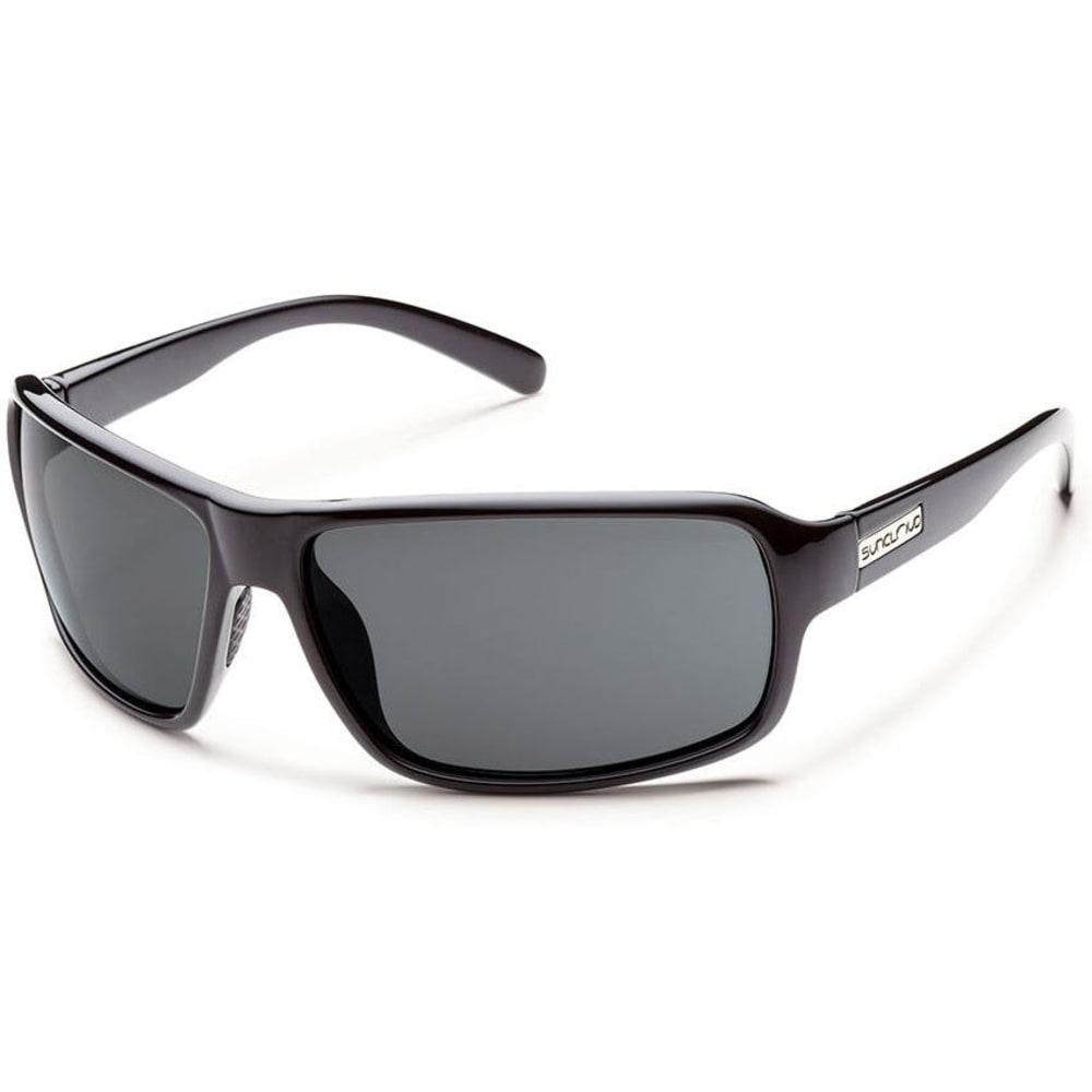 SUNCLOUD Tailgate Polarized Sunglasses, Black - NONE