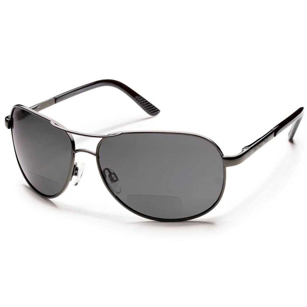 SUNCLOUD Aviator Polarized Sunglasses - GUNMETAL/S-AVPPGYGM