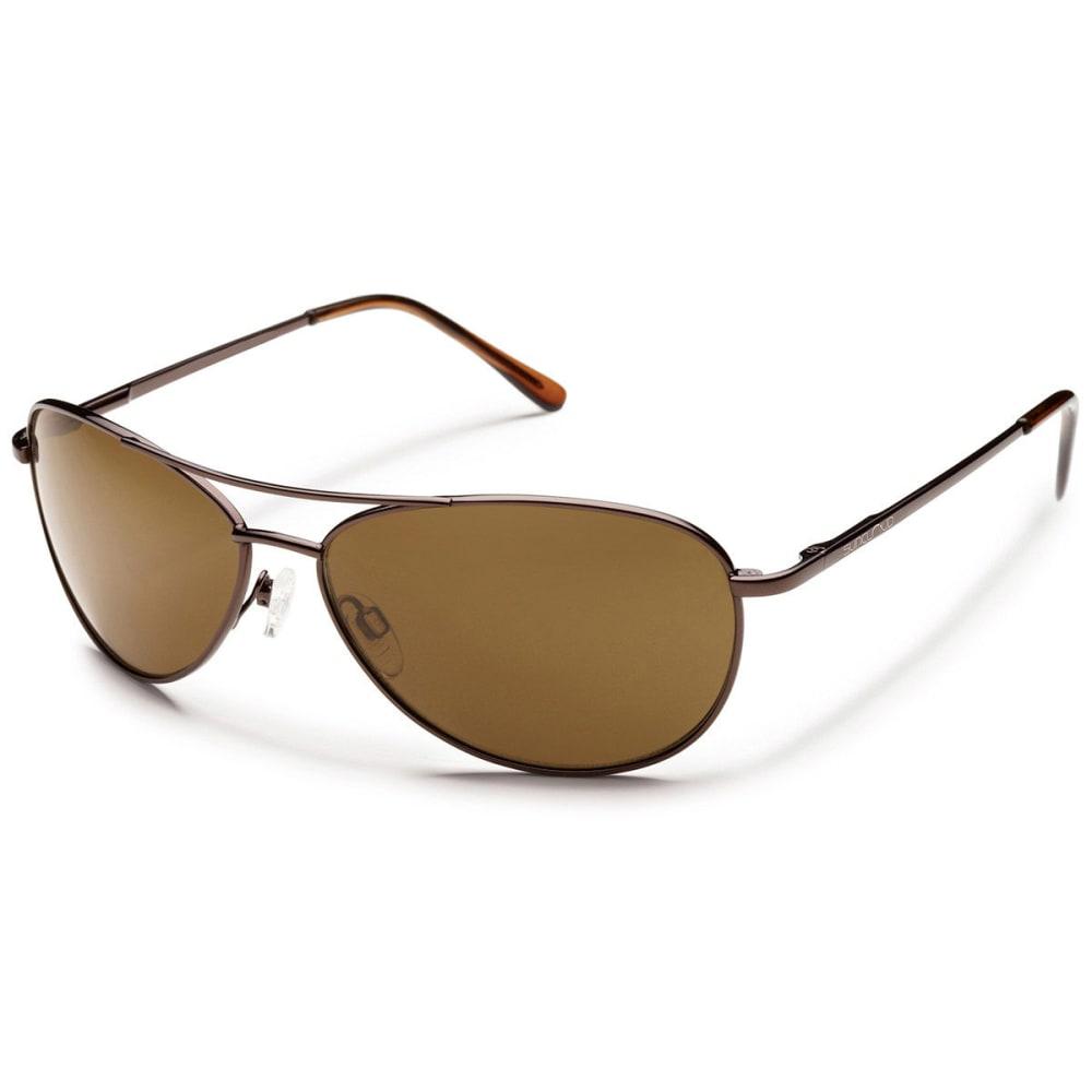 Suncloud Patrol Sunglasses, Brown