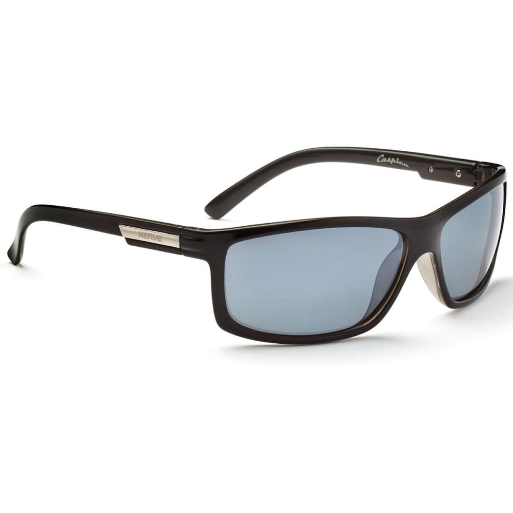 OPTIC NERVE Caspien Sunglasses, Shiny Black - NONE