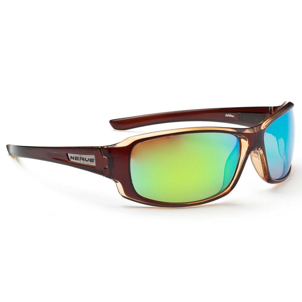 OPTIC NERVE Rohtan Sunglasses, Brown/Tan - NONE