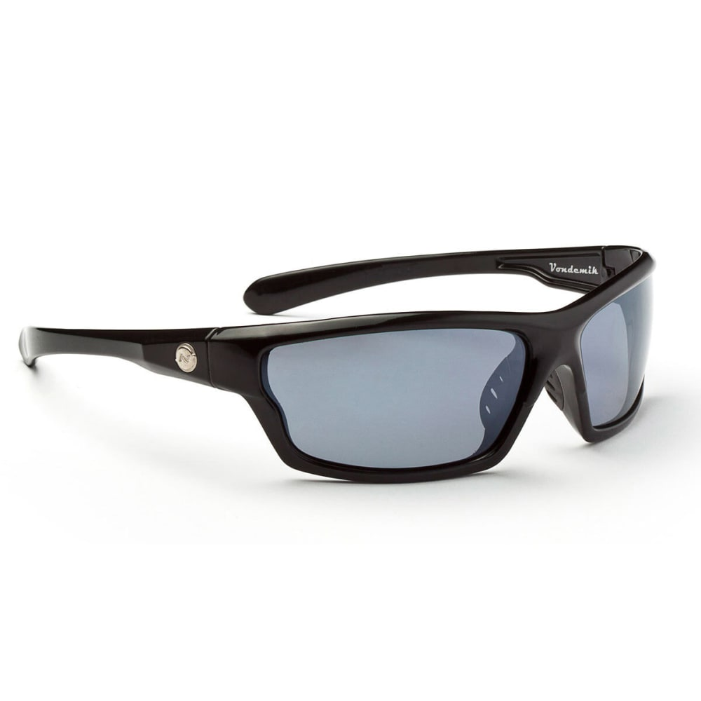 OPTIC NERVE Vondemik Sunglasses, Shiny Black - NONE