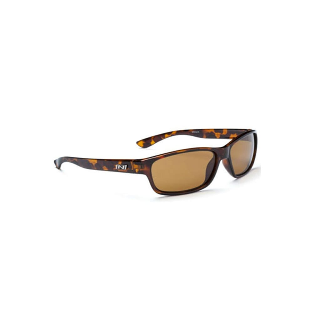 OPTIC NERVE Koger Sunglasses, Shiny Dark Demi - NONE