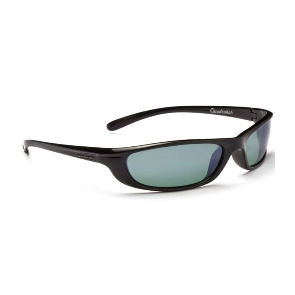 OPTIC NERVE Cloudraker Sunglasses, Shiny Black - NONE
