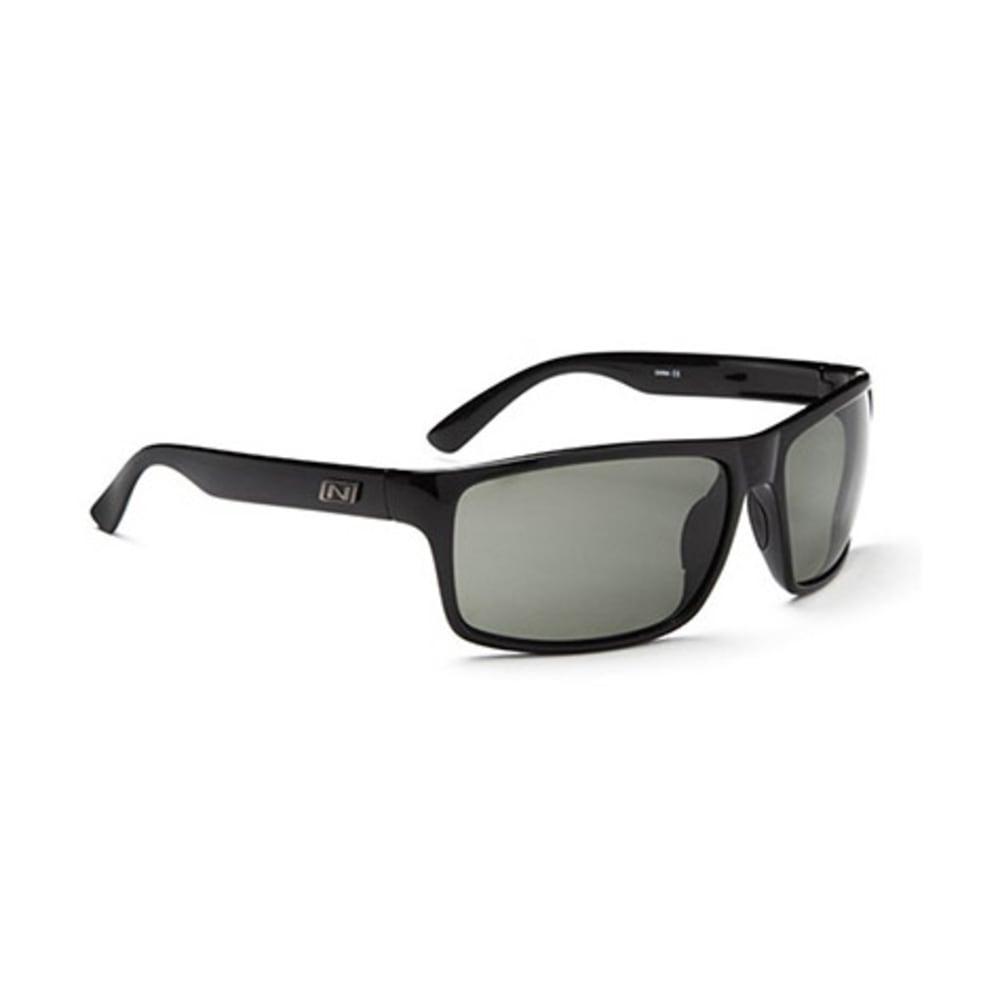 OPTIC NERVE Drago Sunglasses, Black - SHINY BLACK
