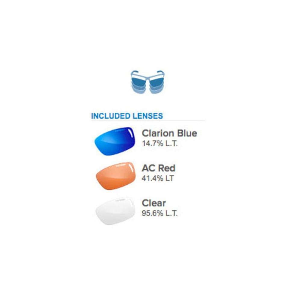 TIFOSI Duro Sunglasses, Smoke/Clarion Blue - SMOKE