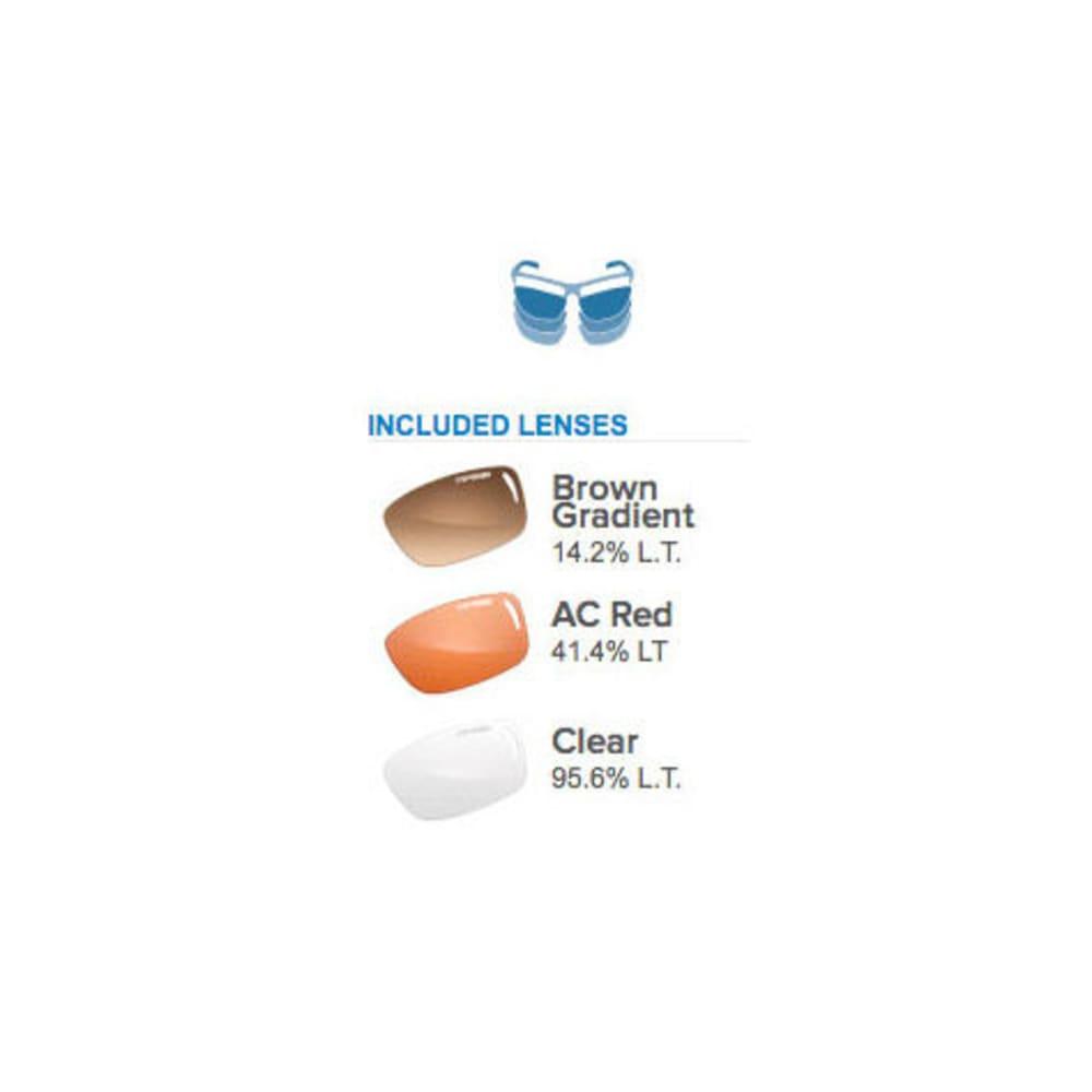 TIFOSI Women's Wisp Sunglasses, Crystal Brown/Brown - BROWN