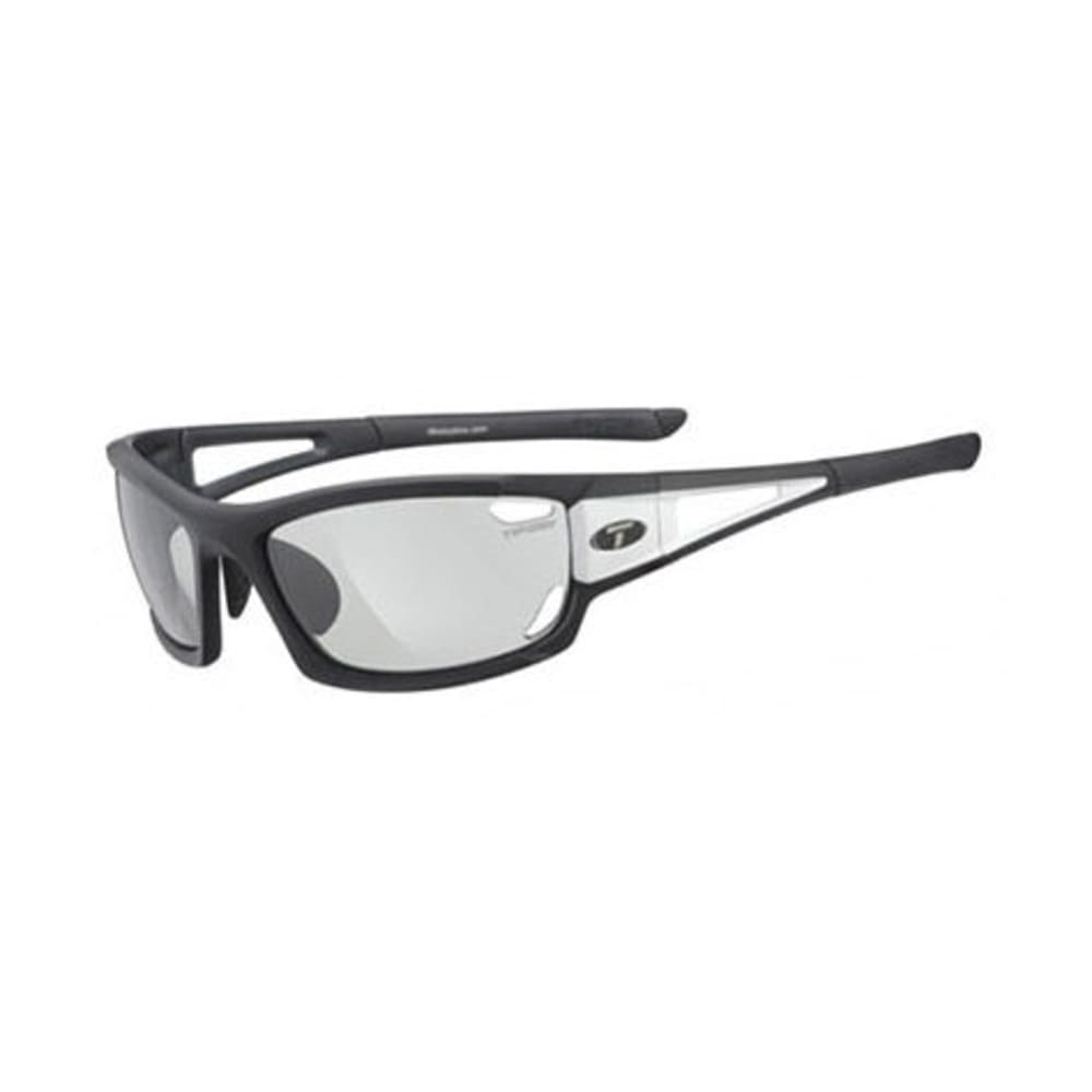 TIFOSI Dolomite 2.0 Sunglasses, Black and White/Light Night - BLACK/WHITE