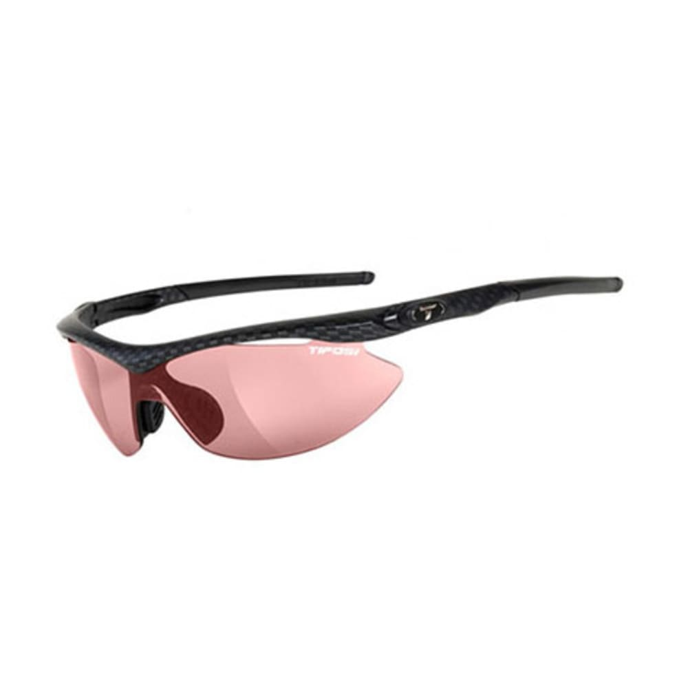 TIFOSI Slip Sunglasses, Carbon/High Speed Red - CARBON