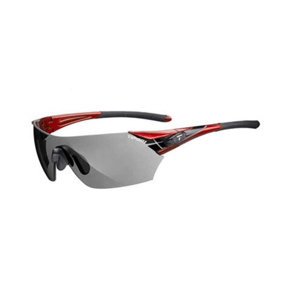 TIFOSI Podium Sunglasses, Metallic Red/Smoke - RED