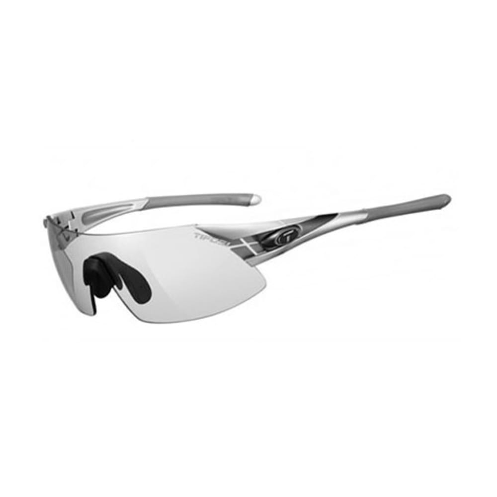 TIFOSI Podium XC Sunglasses, Silver and Gunmetal/Light Night - SILVER