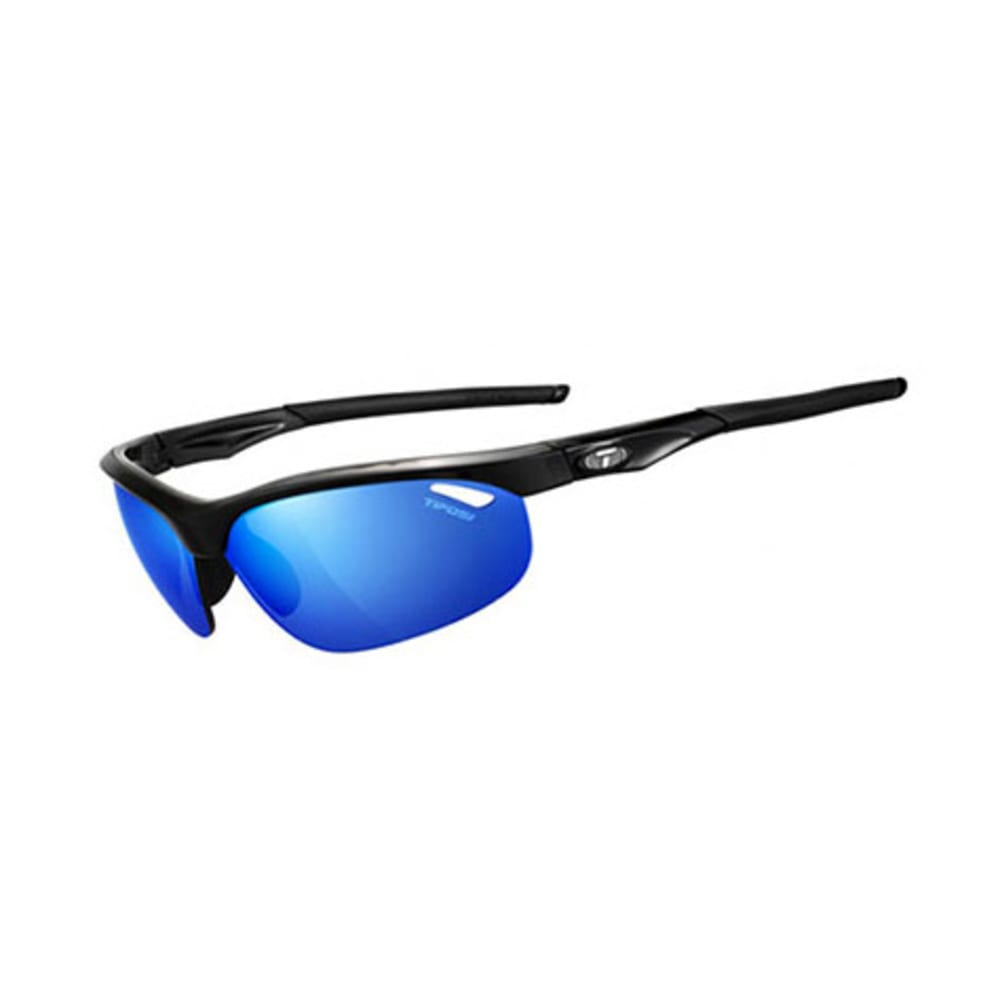 TIFOSI Veloce Sunglasses, Gloss Black/Clarion Blue - BLACK