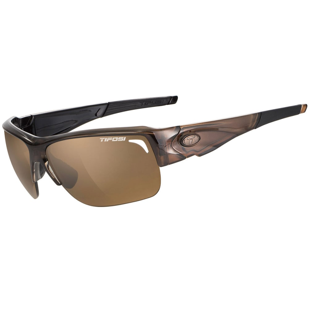 TIFOSI Elder Sunglasses, Crystal Brown/Brown - CRYSTAL BROWN/BROWN