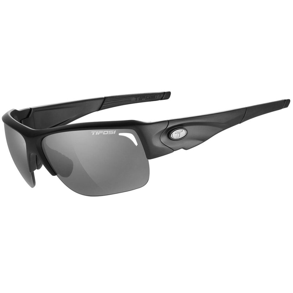 TIFOSI Elder Sunglasses, Matte Black/Smoke - MATTE BLACK/SMOKE