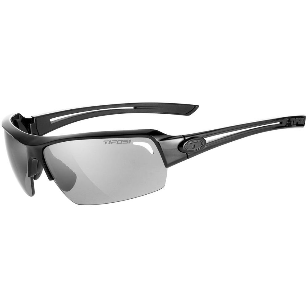 TIFOSI Just Sunglasses, Gloss Black/Smoke - GLOSS BLACK/SMOKE