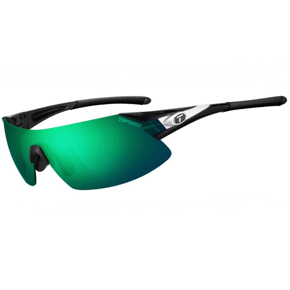 TIFOSI Podium XC Sunglasses, Black/White/Green - BLACK/WHITE/GREEN