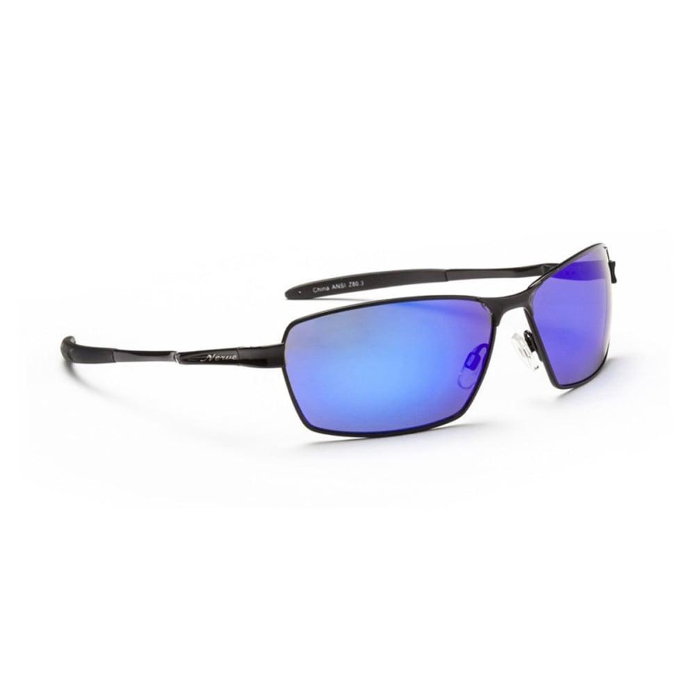 OPTIC NERVE Axel Sunglasses, Flash Black/Polarized Smoke - FLASHBLACK