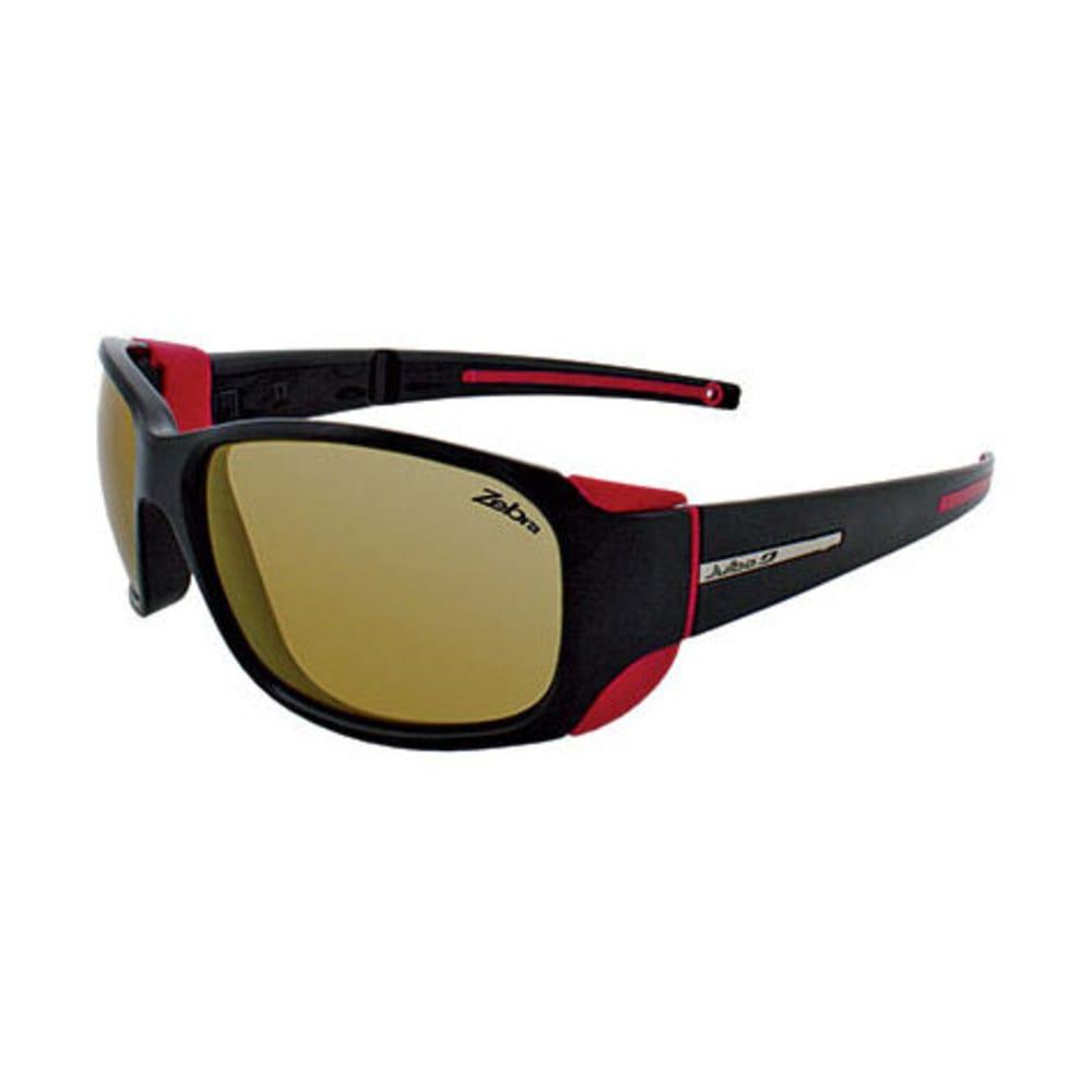 JULBO Women's MonteRosa Zebra Sunglasses, Black/Fuchsia - BLACK