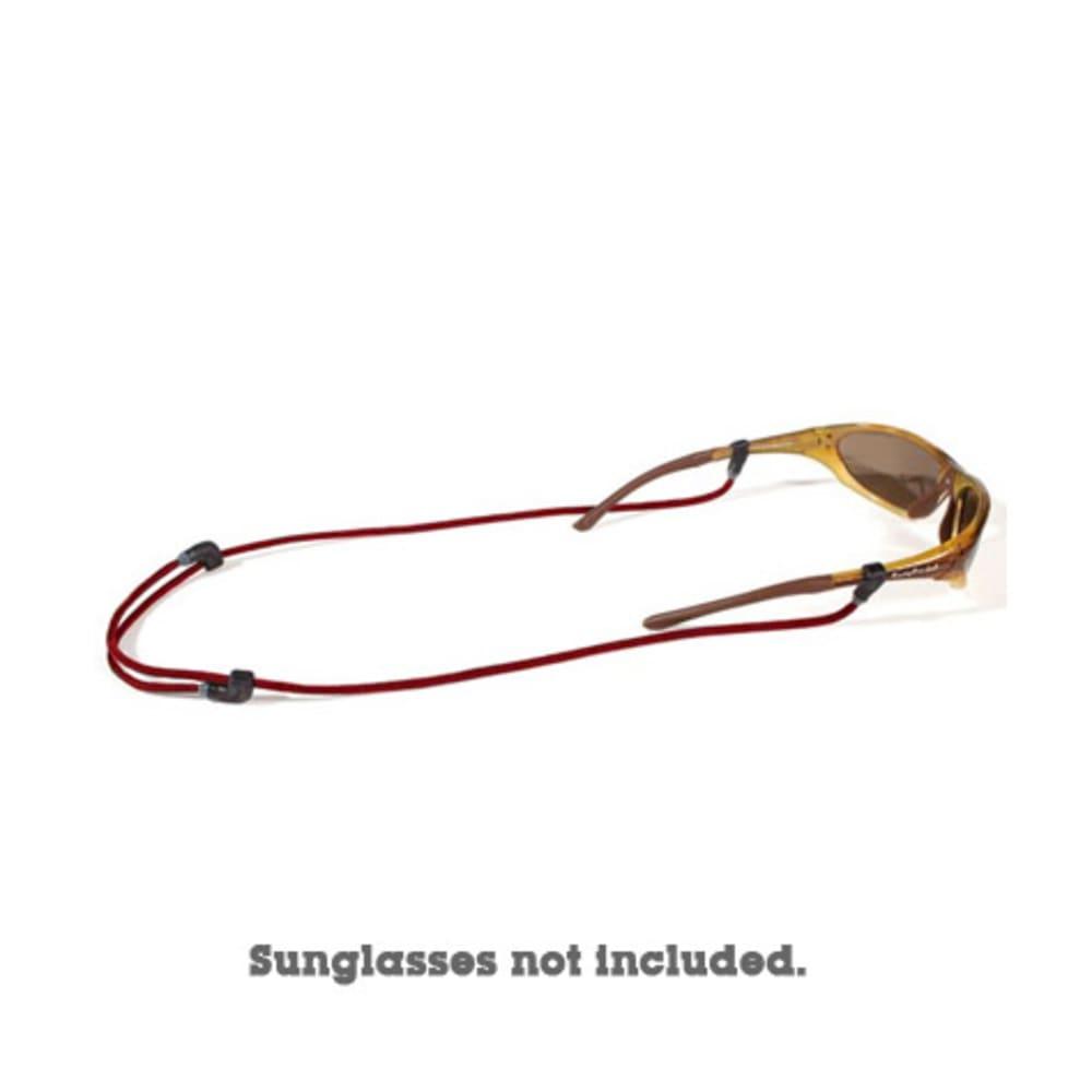 CROAKIES Endless Cord Tite End Eyewear Retainer - RED