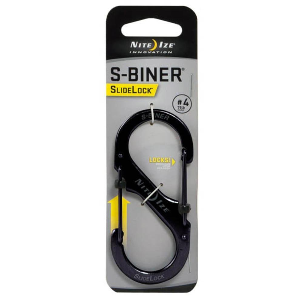 NITE IZE S-Biner SlideLock #4 Key Ring - NONE