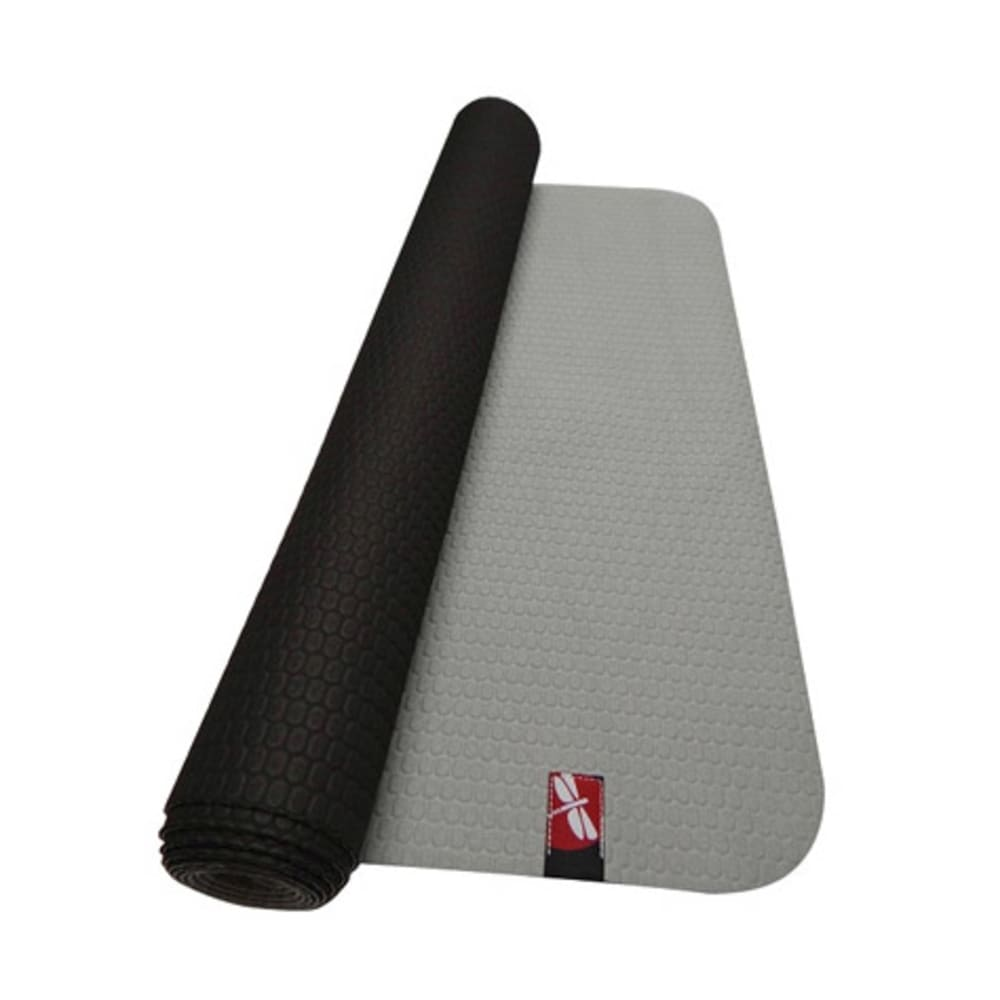 TPE Hot Yoga 68-Inch Mat Towel in Gray/Black - GREY