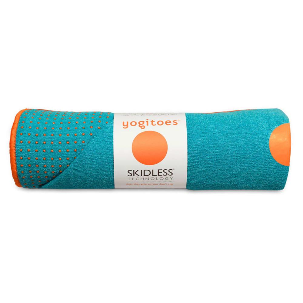 MANDUKA yogitoes Mat Towel - AQUA