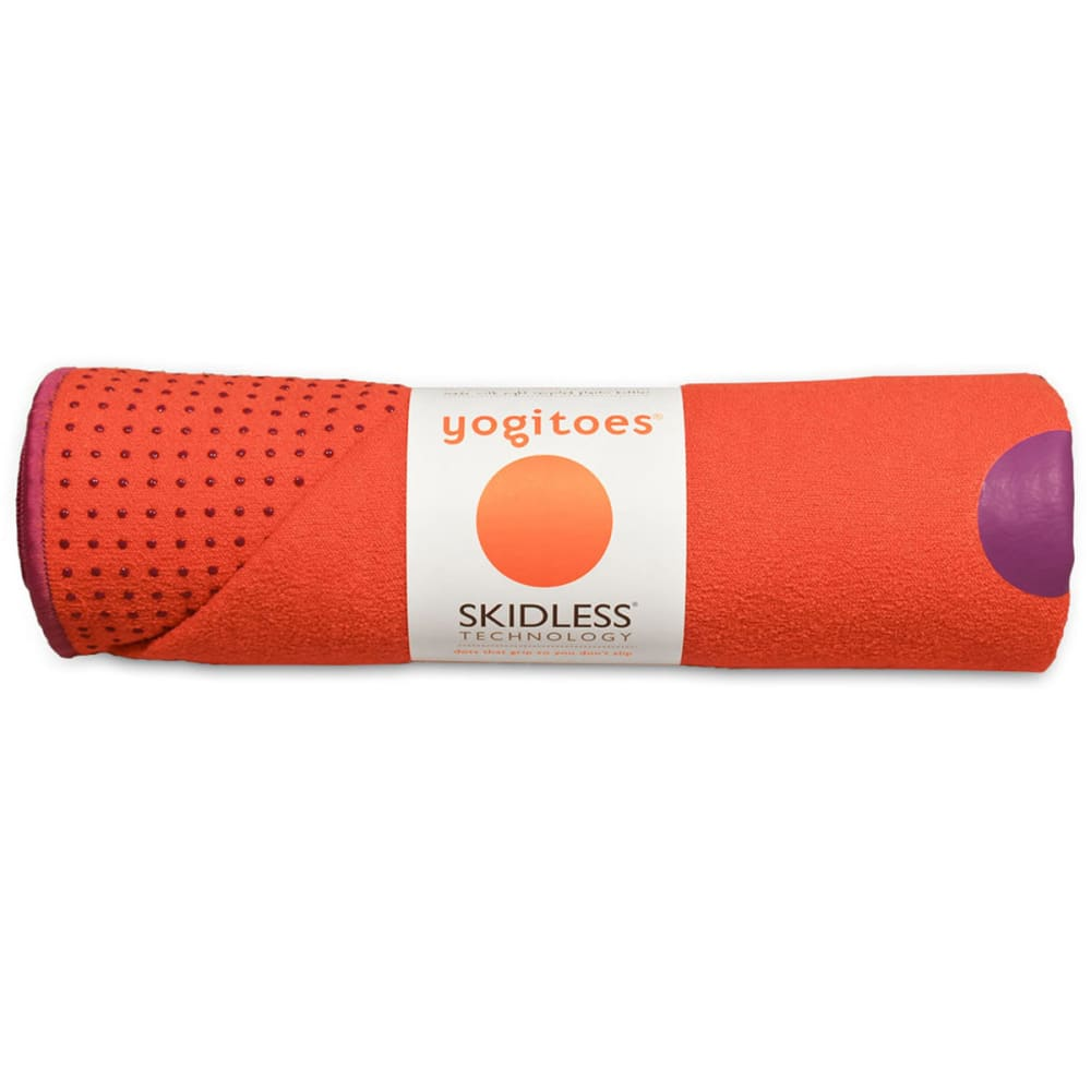 MANDUKA yogitoes Mat Towel - ORANGE