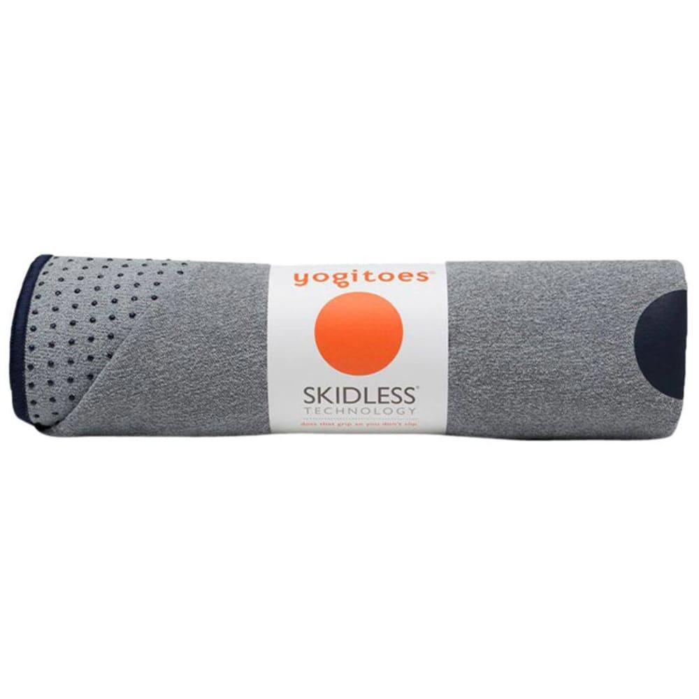 MANDUKA Yogitoes Mat Towel, Ash Midnight - ASH MIDNIGHT
