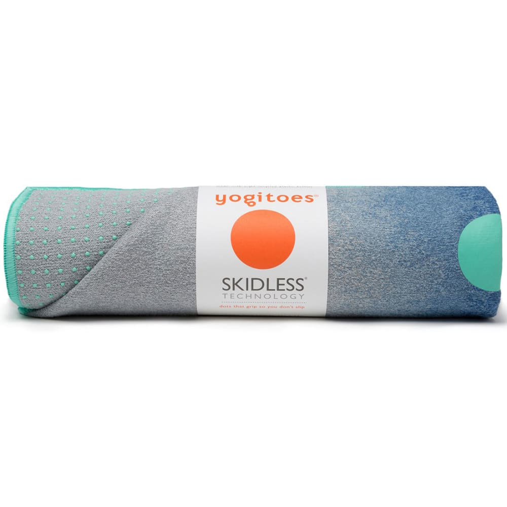 MANDUKA Yogitoes Mat Towel - WATERFALL MIDNIGHT