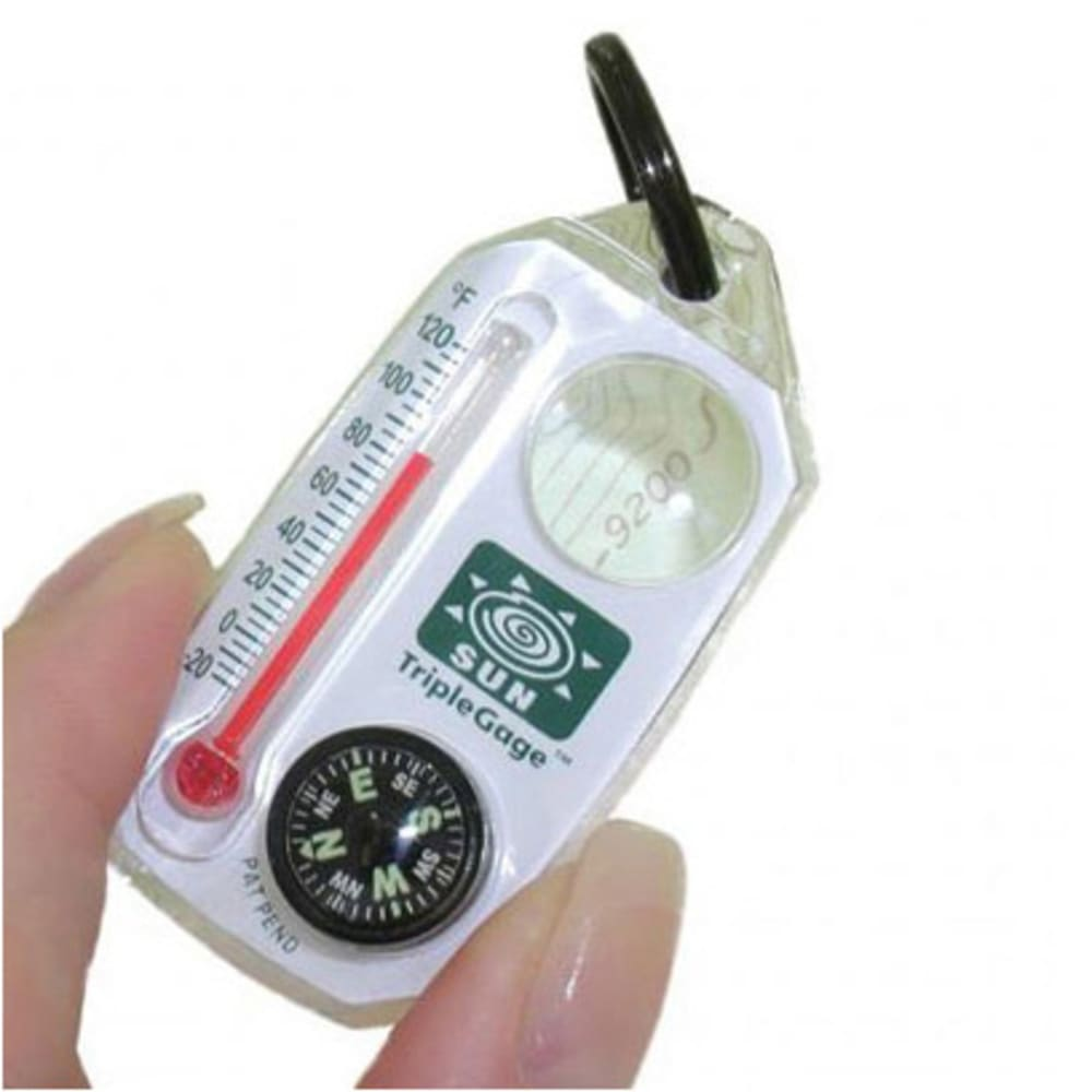 SUN COMPANY Triple Gage Compass - NONE