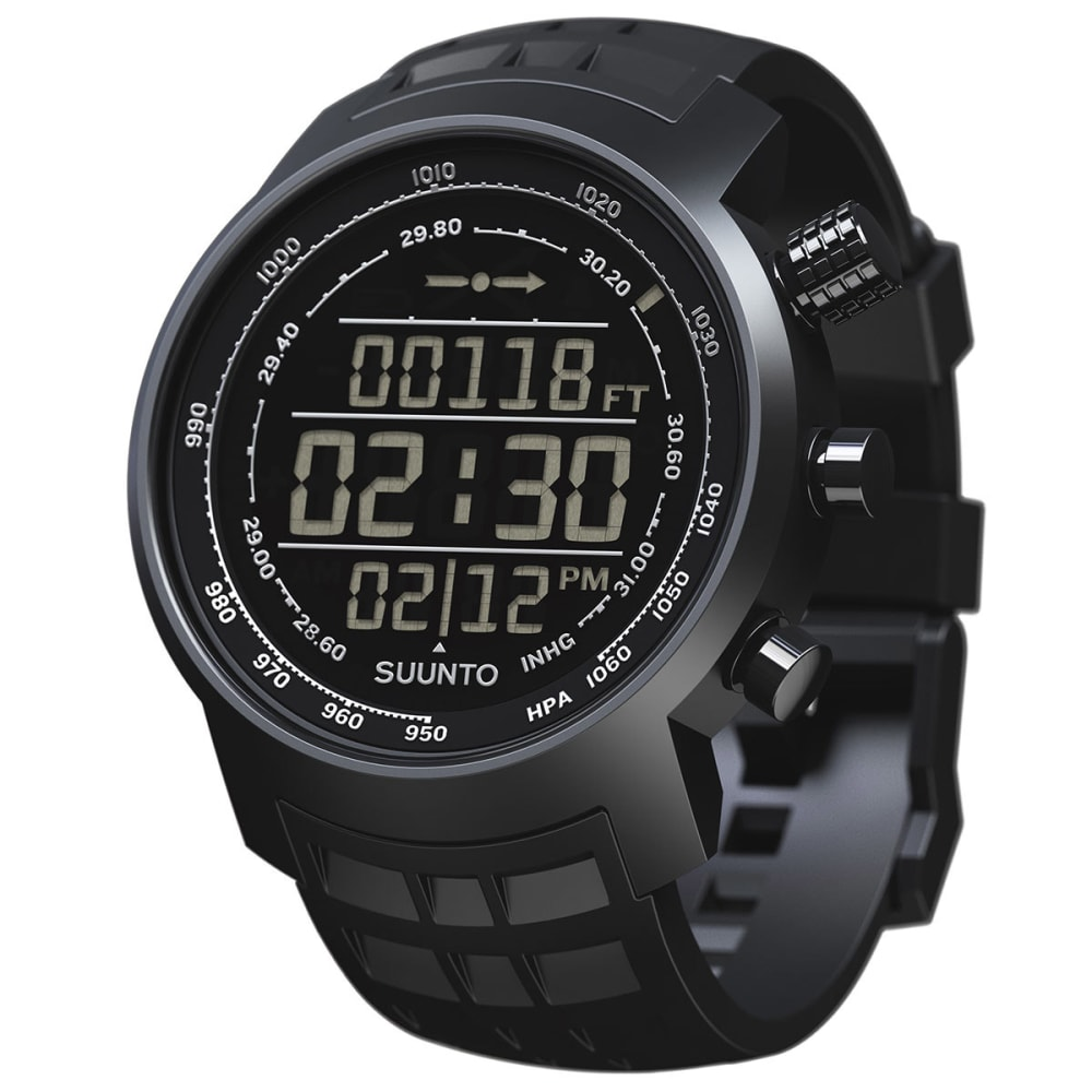 SUUNTO Elementum Terra Watch, Black Rubber - NONE