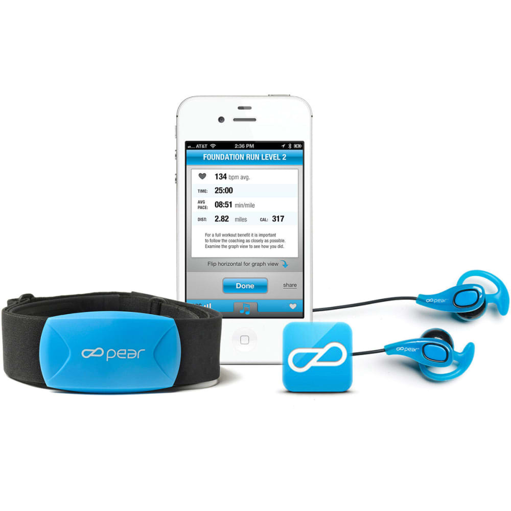PEAR SPORTS Training Intelligence System Kit - BLUE