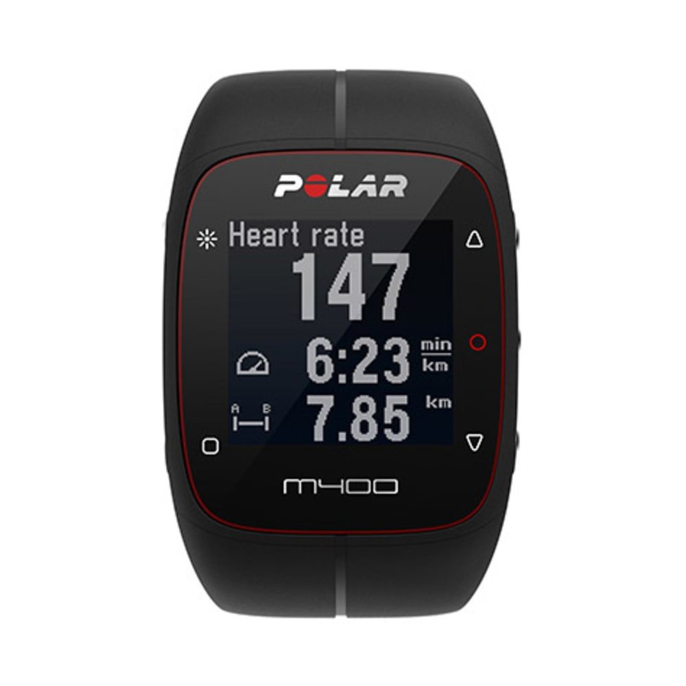 POLAR M400 GPS Watch with HRM - BLACK
